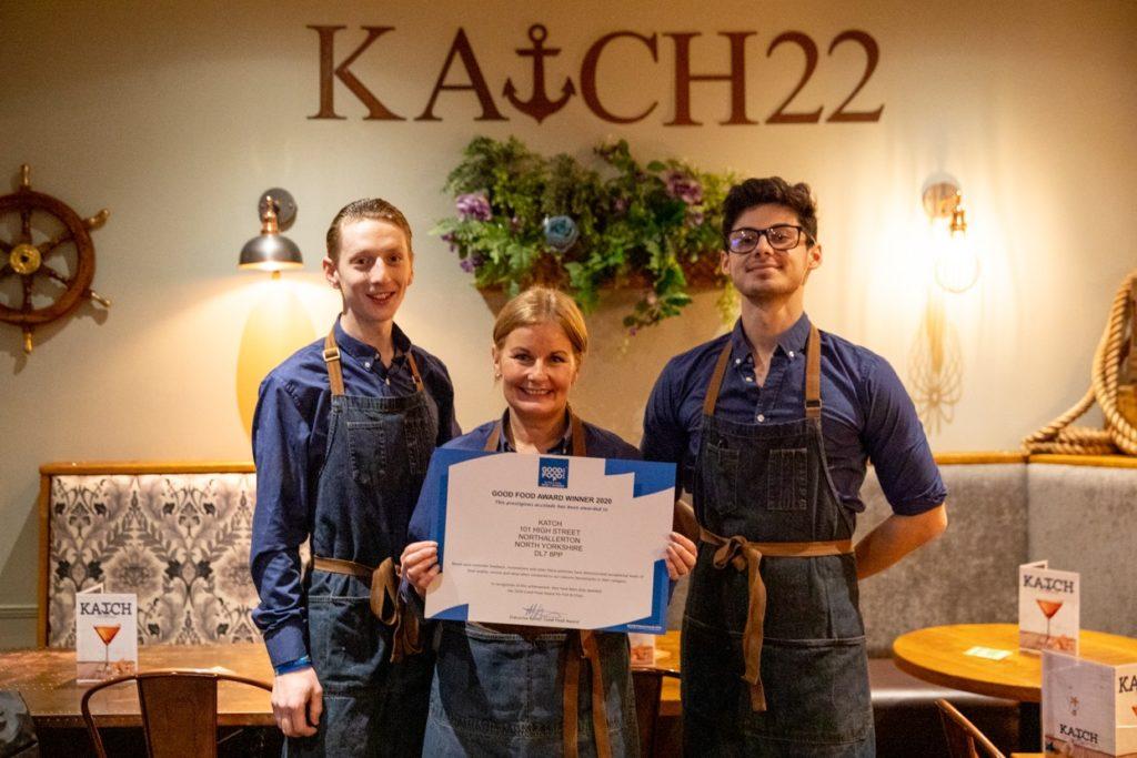 KATCH Northallerton food dining restaurant food awards