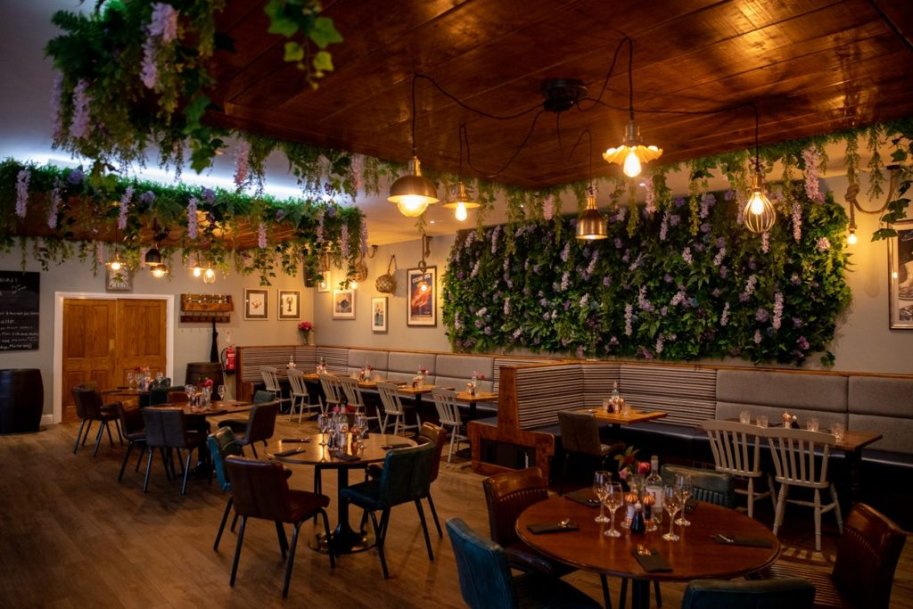 KATCH Northallerton eating out dining dining interior seafood restaurant