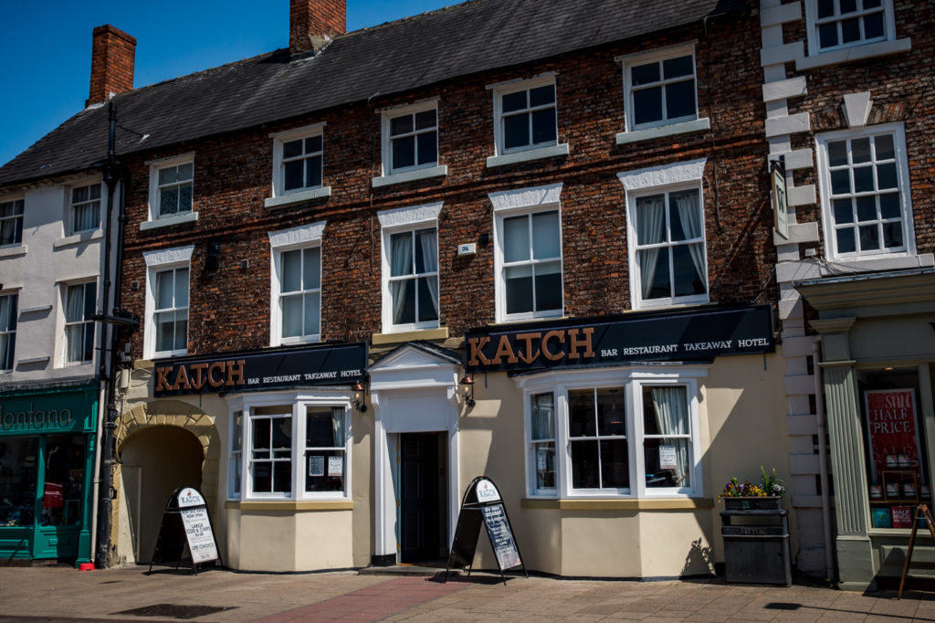 KATCH Northallerton great pub restaurant takeaway and rooms on the high street